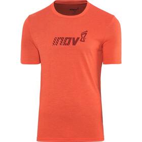 inov-8 Tri Blend Division Camiseta Manga Corta Hombre, red